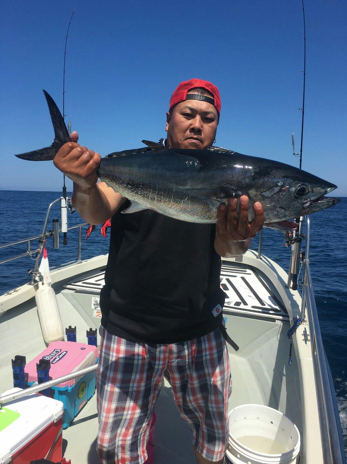 KUPPAさんの投稿画像,写っている魚はメジマグロ