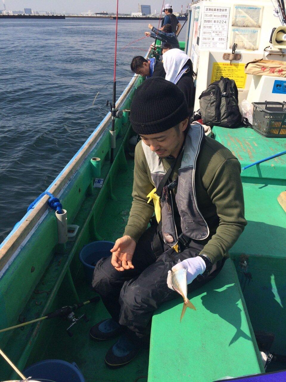 ふろったくさんの投稿画像,写っている魚はシマアジ