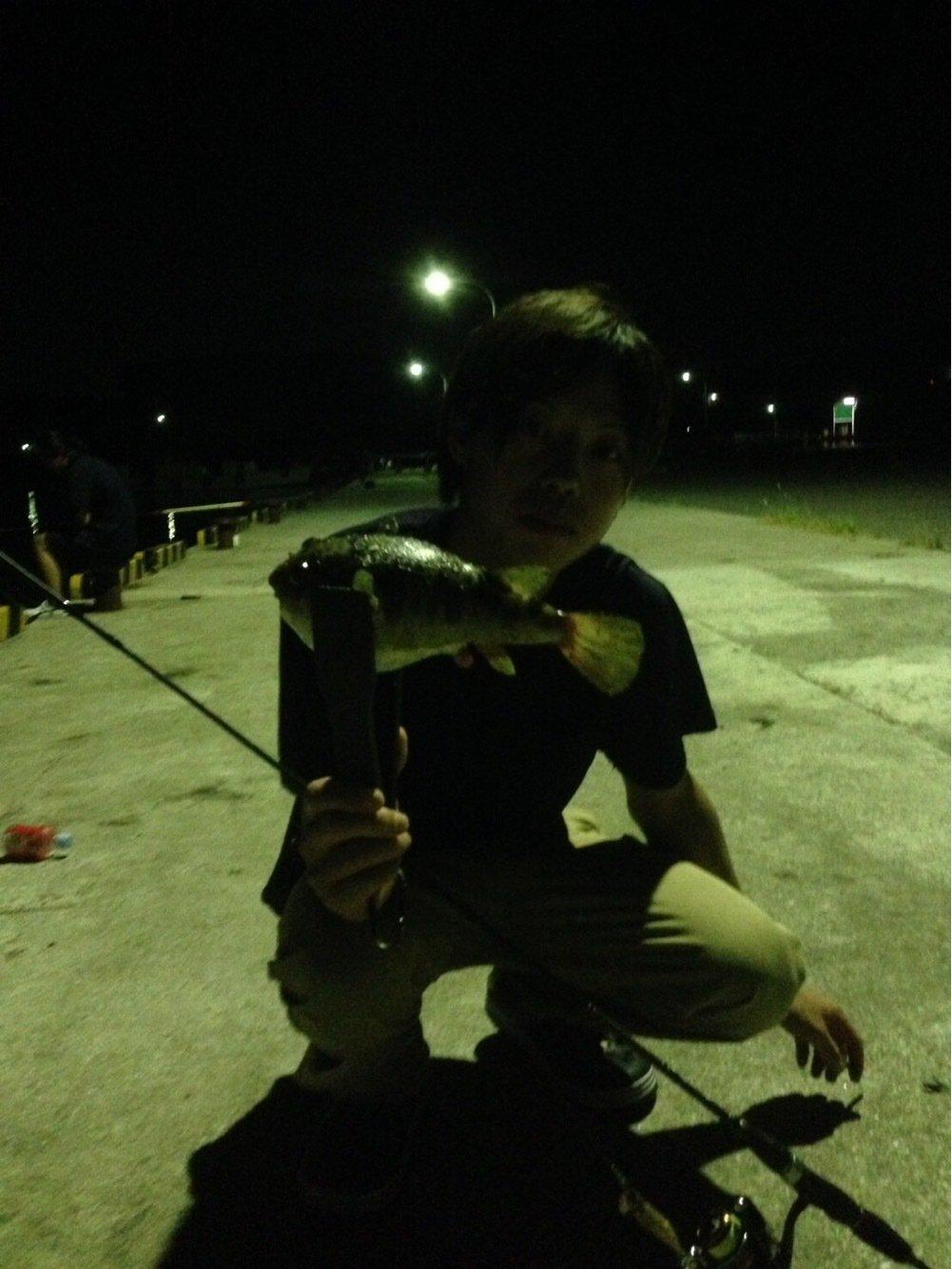 Rさんの投稿画像,写っている魚はクサフグ