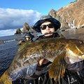 ヒ グさんの北海道でのアイナメの釣果写真
