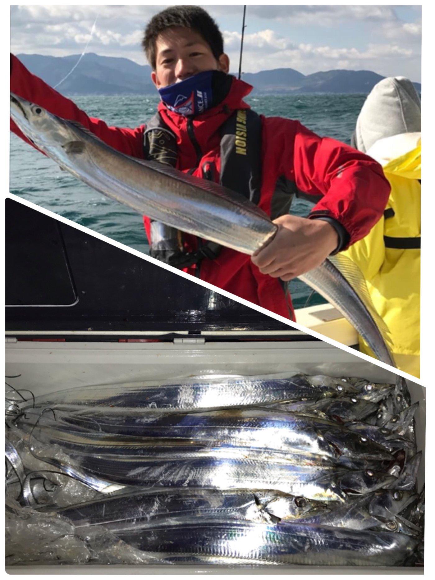 tkfmさんの投稿画像,写っている魚はタチウオ