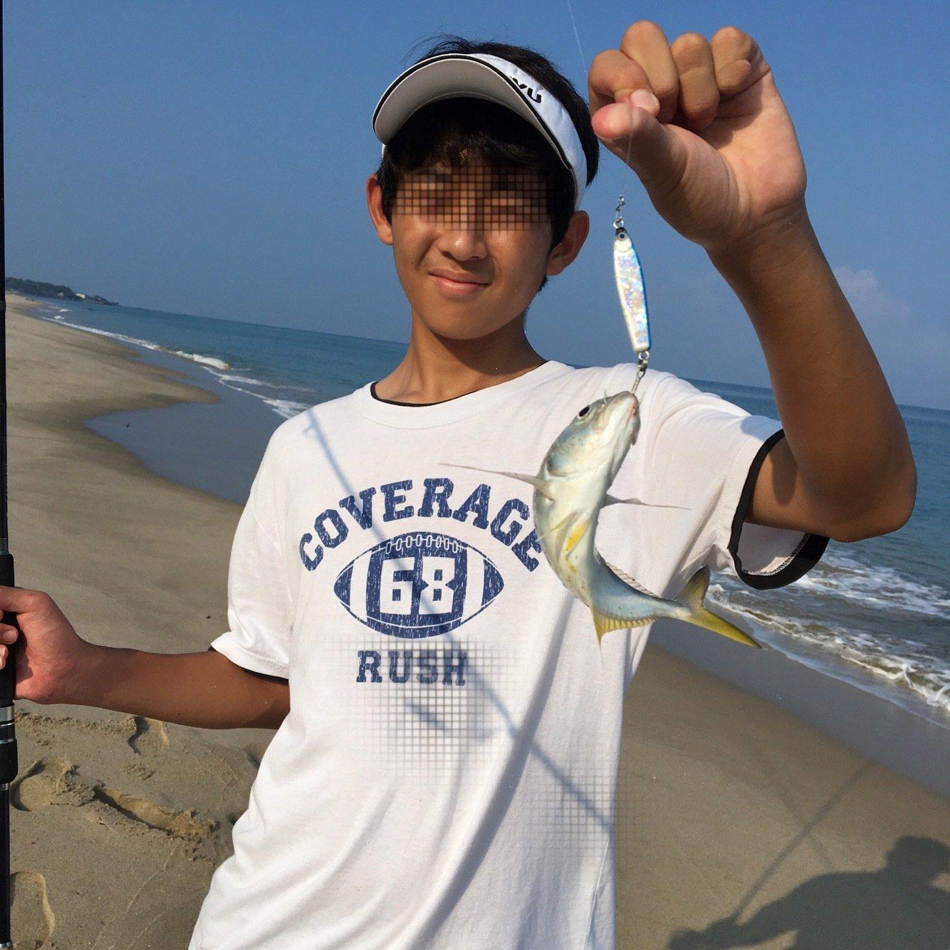 みやっちさんの投稿画像,写っている魚はギンガメアジ