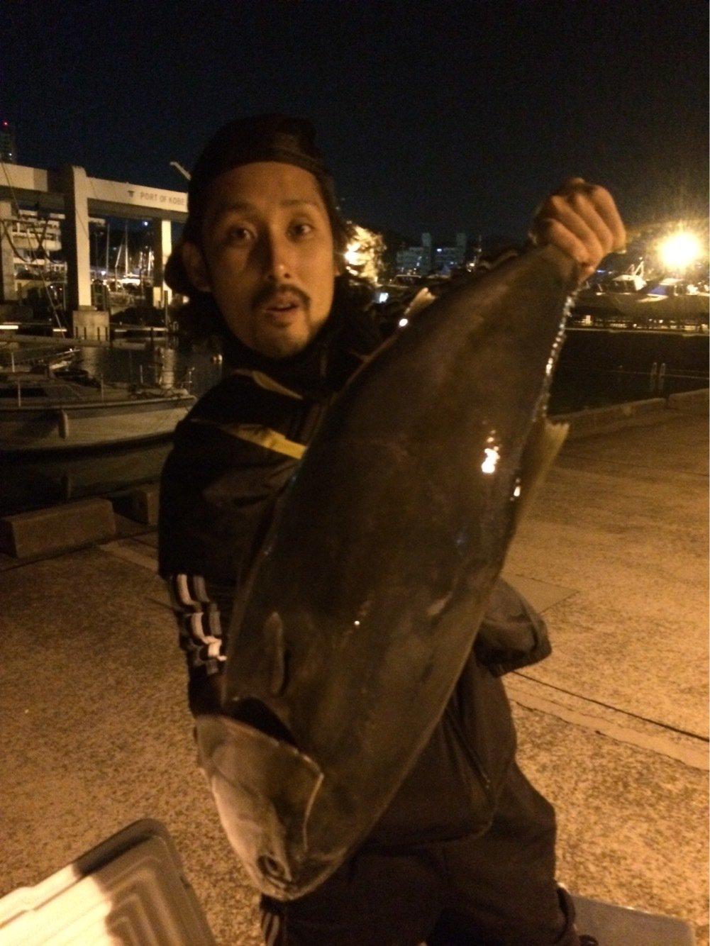 トキさんの投稿画像,写っている魚はブリ