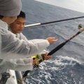 釣りキチ三平さんの沖縄県島尻郡での釣果写真