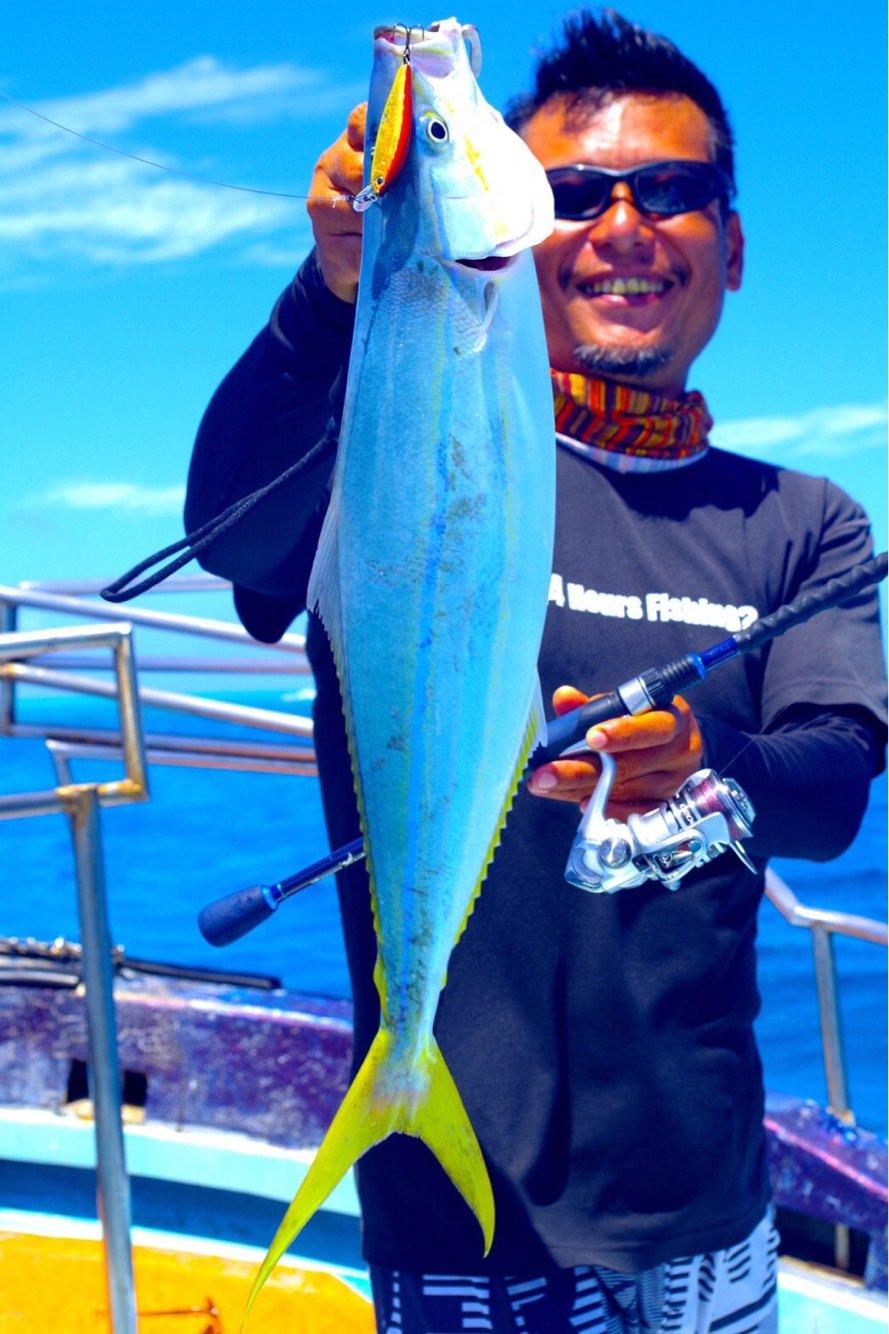 tamatamanさんの投稿画像,写っている魚はツムブリ