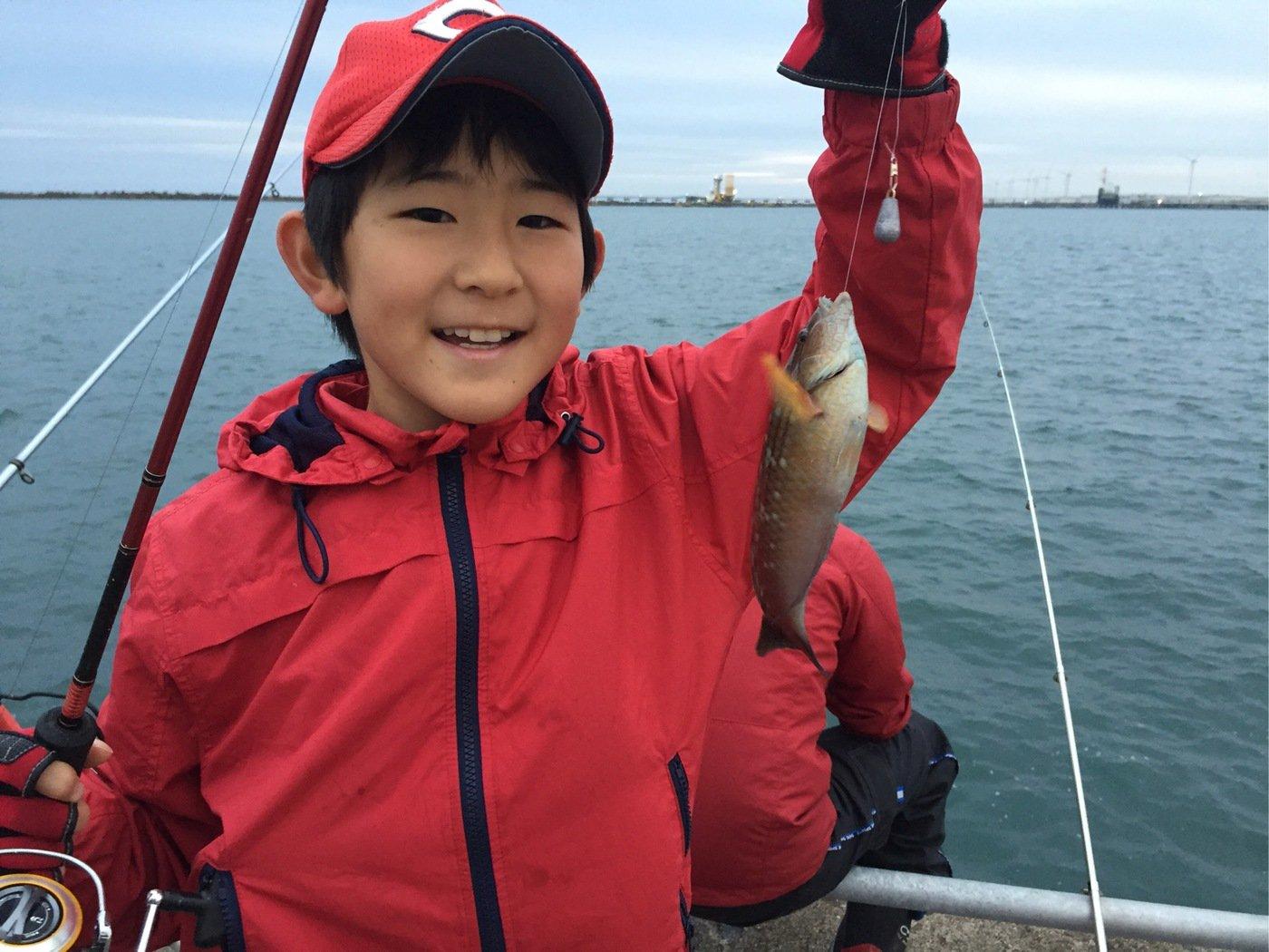 fish hunter 57号さんの投稿画像,写っている魚はアカササノハベラ
