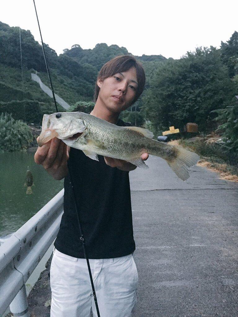 Rさんの投稿画像,写っている魚はブラックバス
