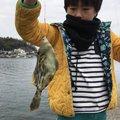 西岡春雄さんのカワハギの釣果写真