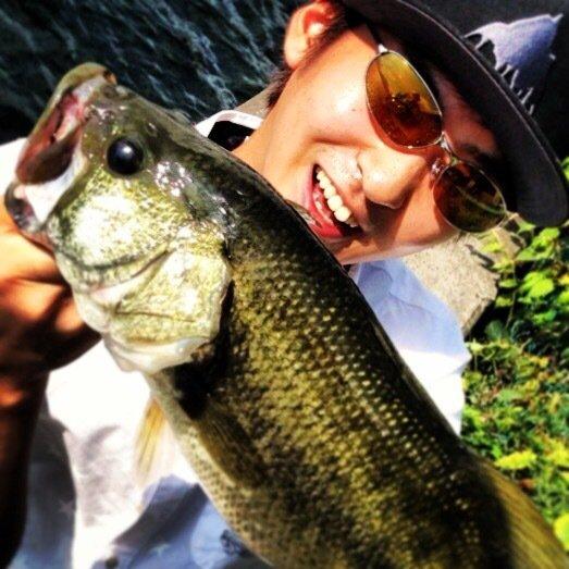 だいちゃんさんの投稿画像,写っている魚はブラックバス