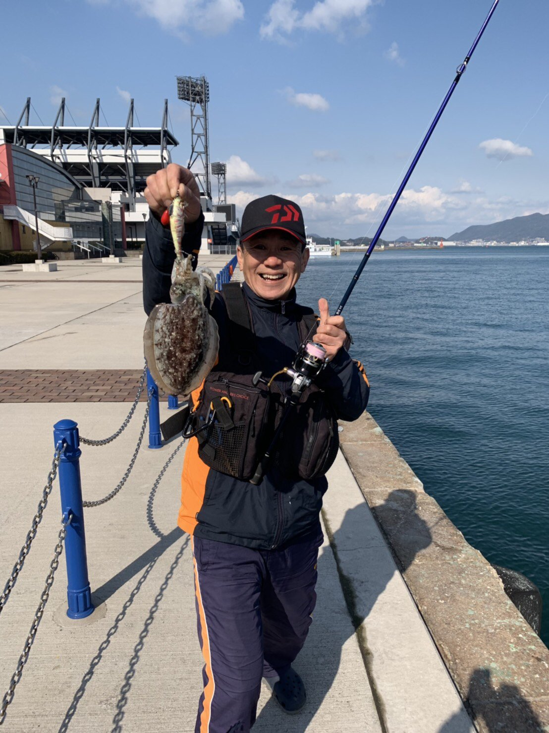 ツヨポンさんの投稿画像,写っている魚は