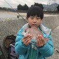 西岡春雄さんの山口県岩国市での釣果写真