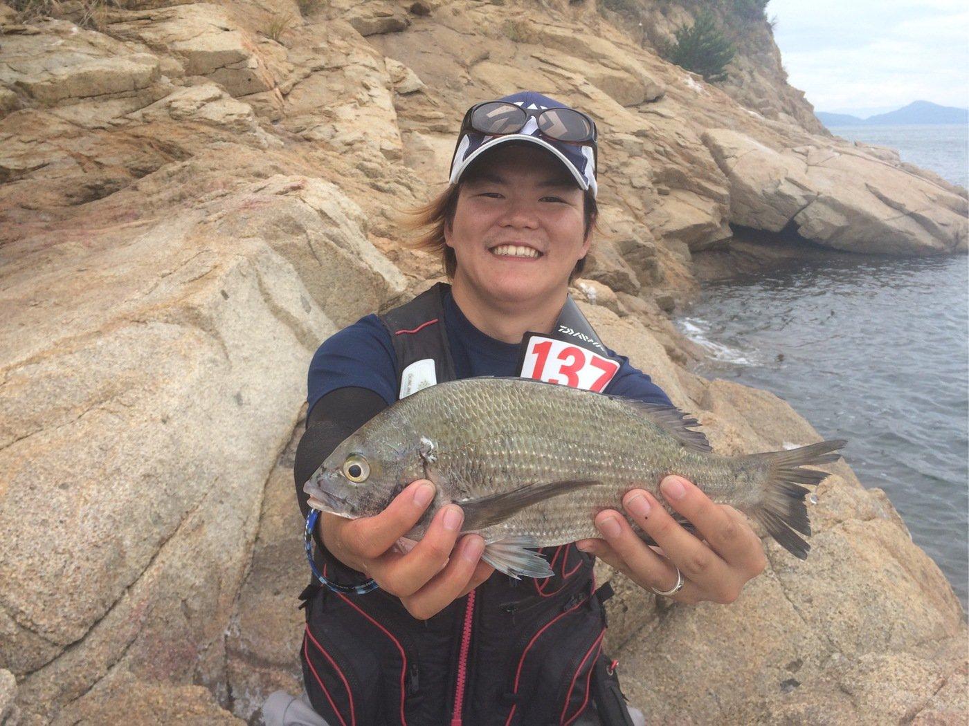 CCBさんの投稿画像,写っている魚はクロダイ