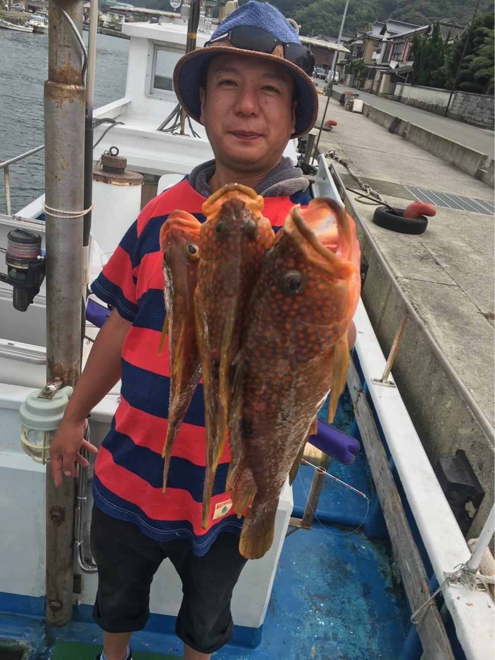 池上 代司治さんの投稿画像,写っている魚はキジハタ