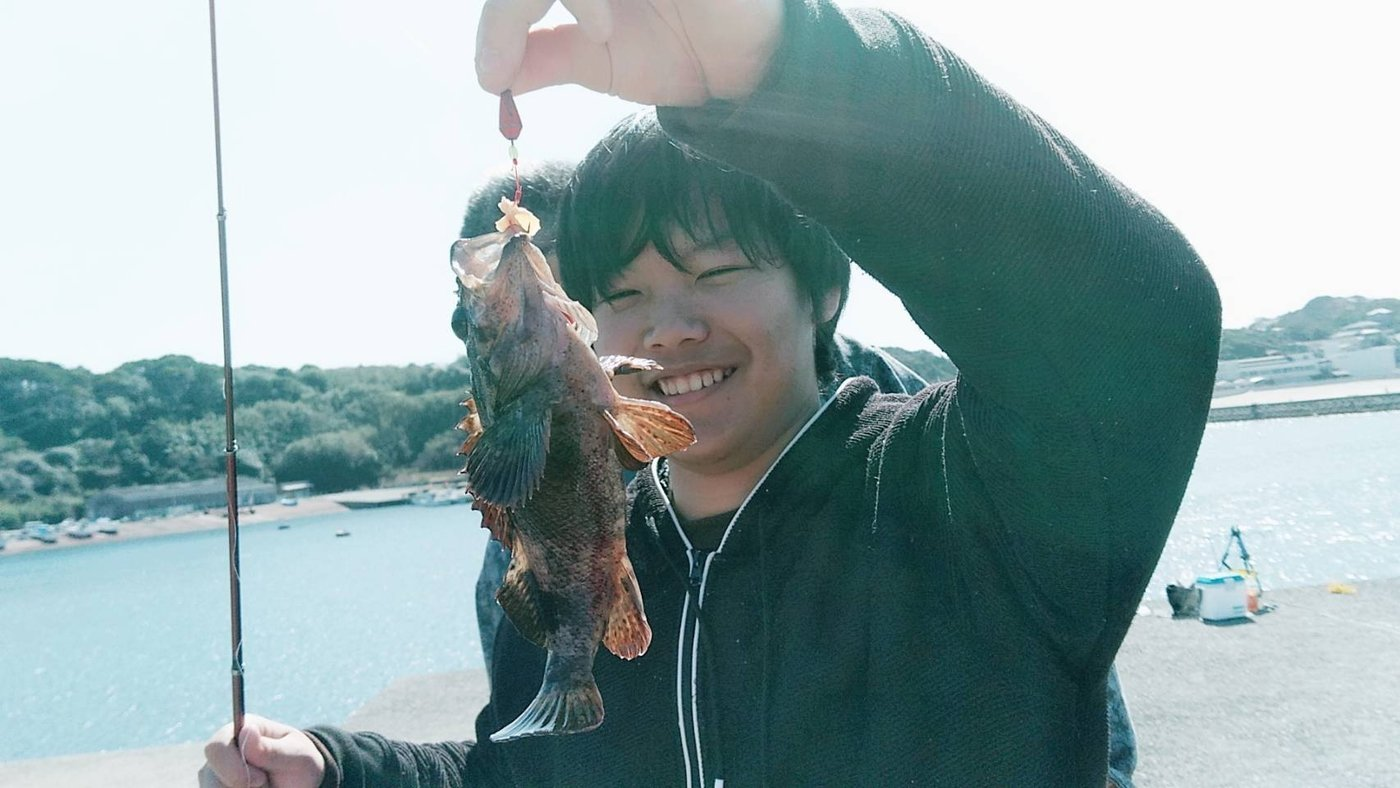 Michikoさんの投稿画像,写っている魚は