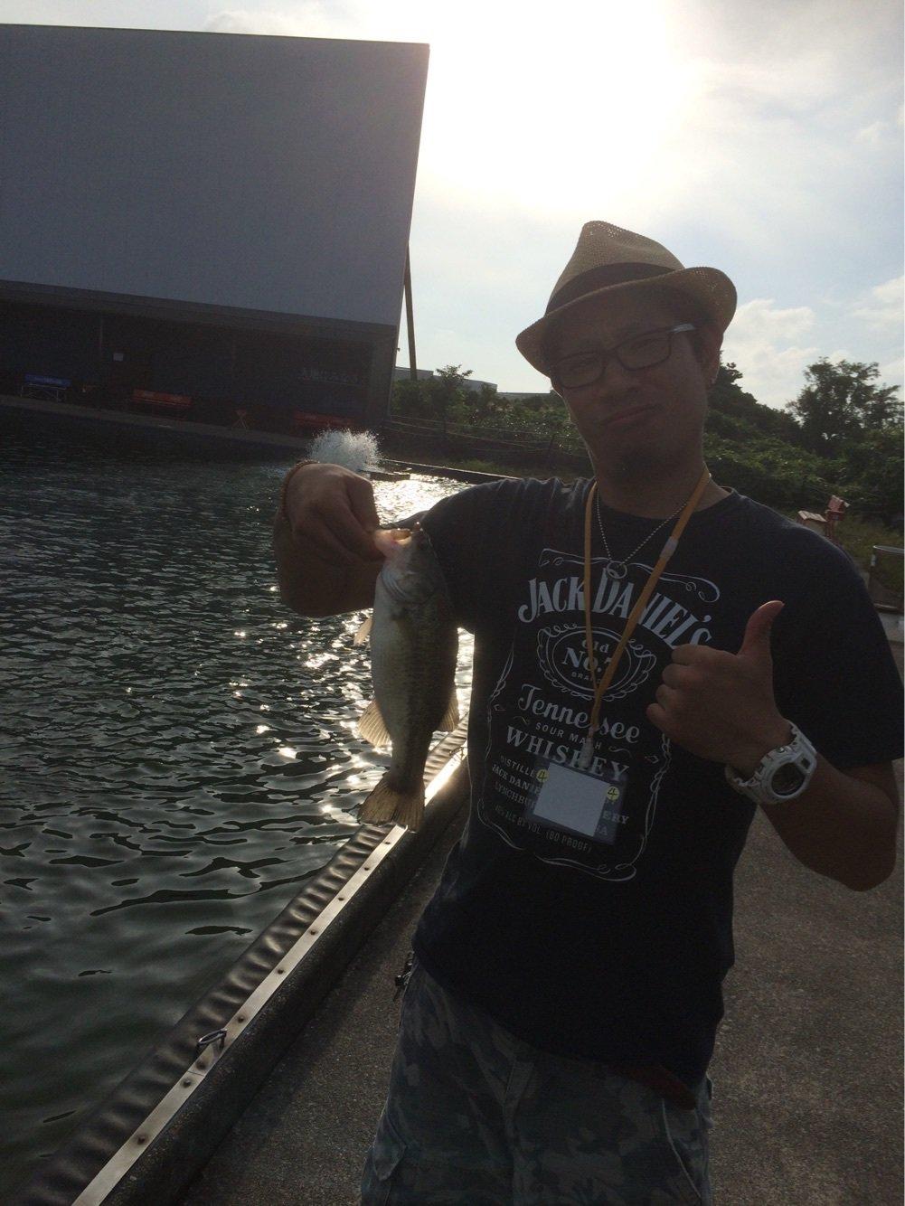 Yasuさんの投稿画像,写っている魚はブラックバス