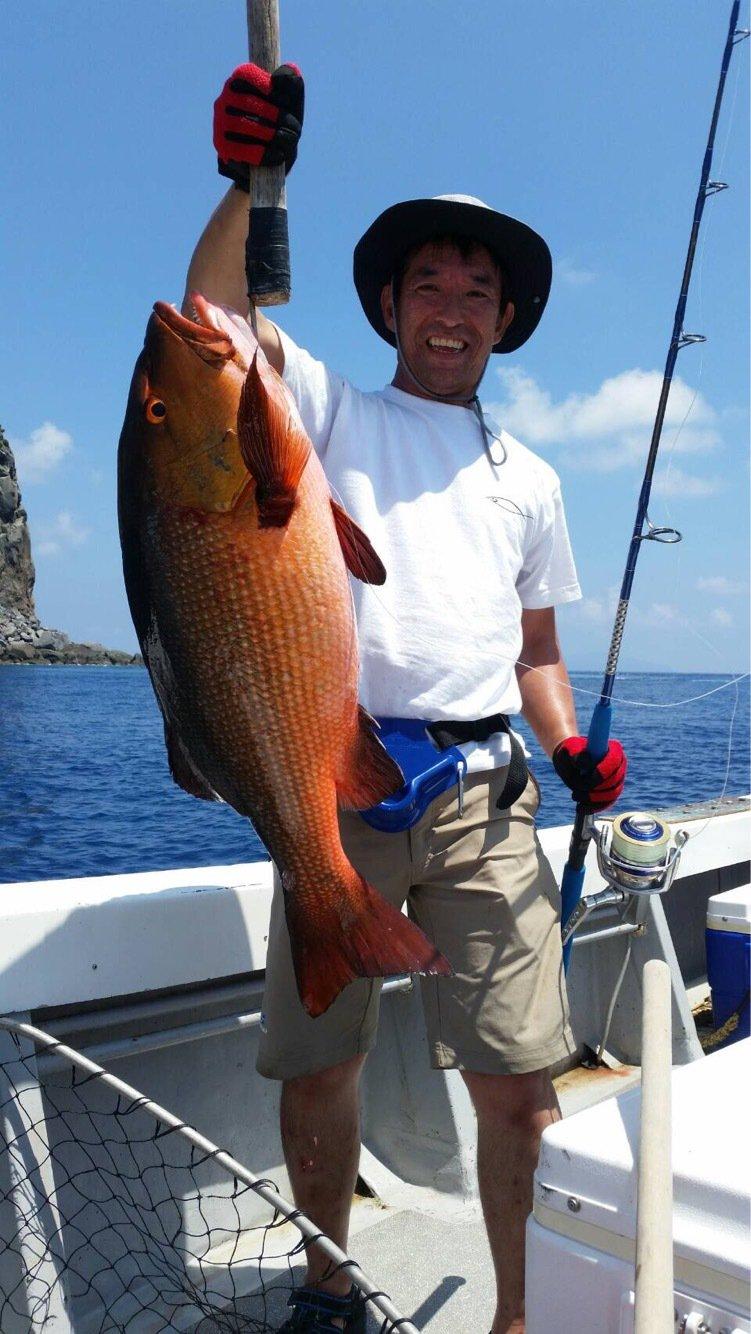 saruさんの投稿画像,写っている魚はバラハタ