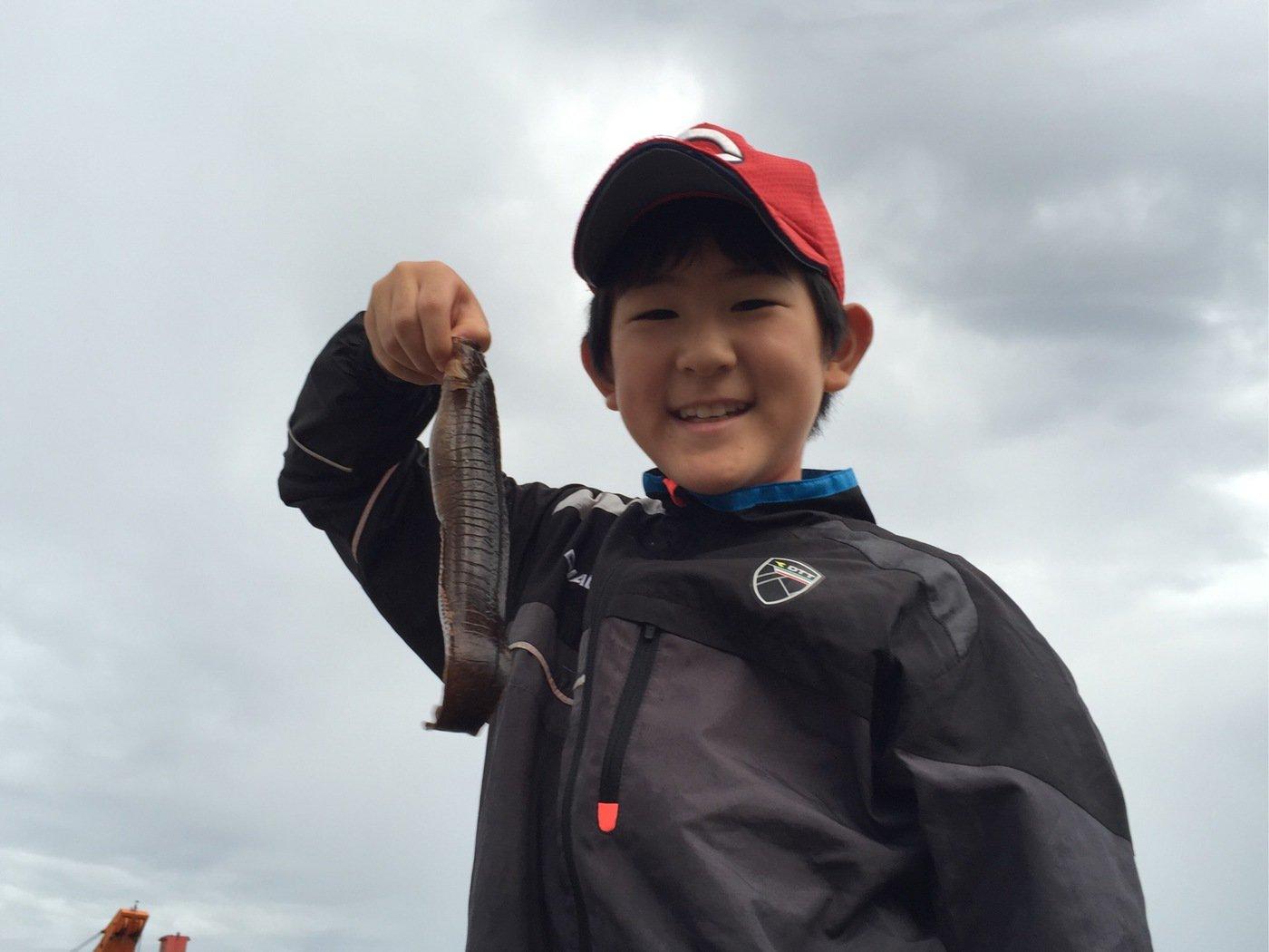 fish hunter 57号さんの投稿画像,写っている魚はギンポ