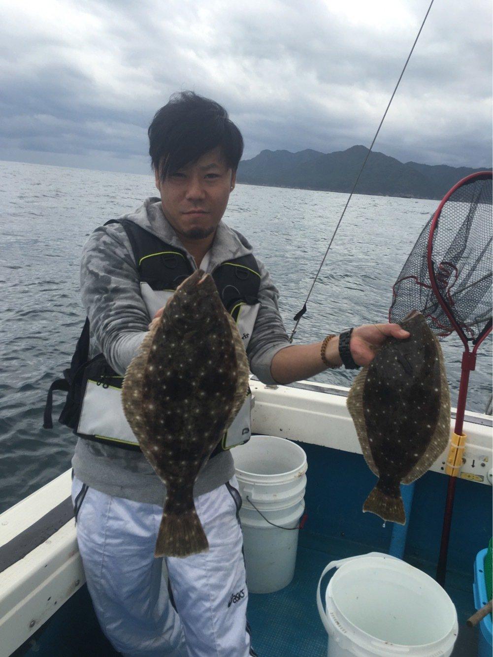 Sendoufishingさんの投稿画像,写っている魚はヒラメ