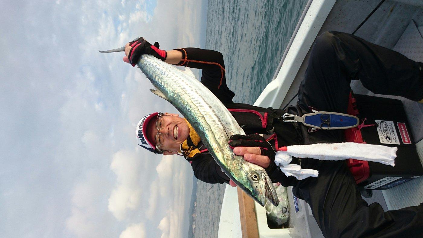 ツカサさんの投稿画像,写っている魚はサワラ