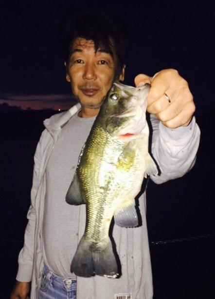 Yuji Pogiさんの投稿画像,写っている魚はブラックバス