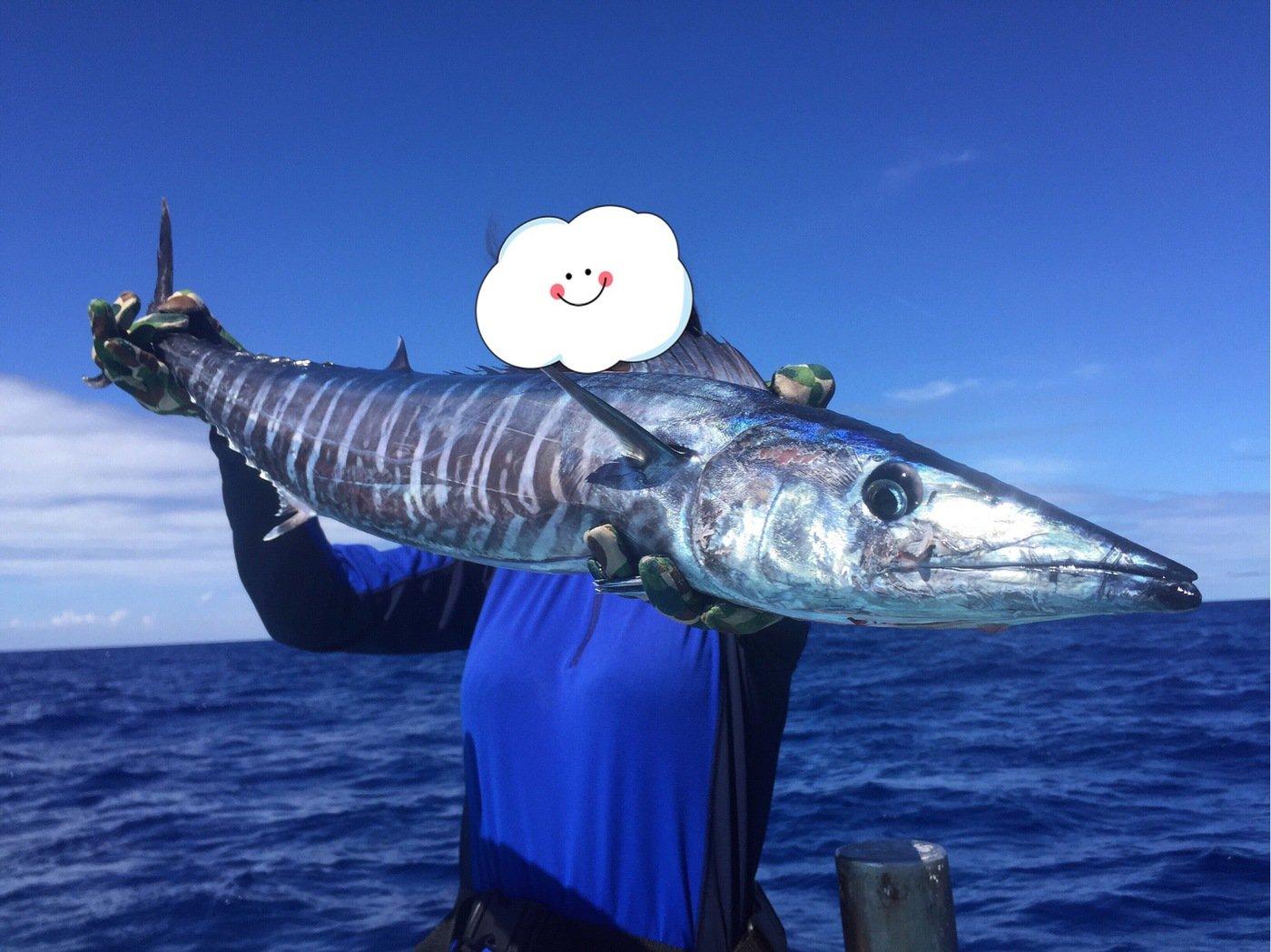 ユミさんの投稿画像,写っている魚はカマスサワラ