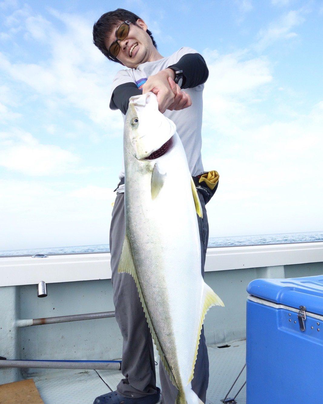 豚骨あんどうさんの投稿画像,写っている魚はヒラマサ