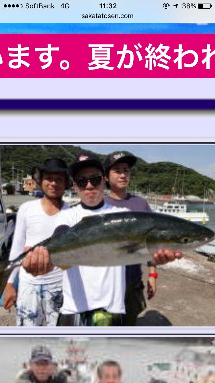 撃投ジギンガーさんの投稿画像,写っている魚はブリ