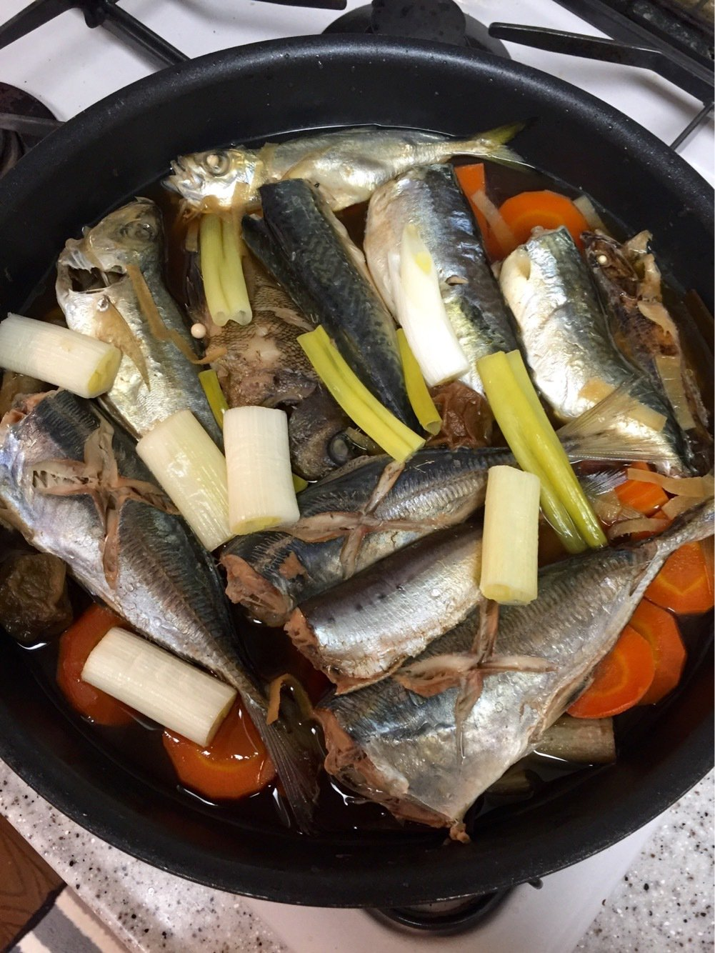 アナハゼさんの投稿画像,写っている魚はアジ