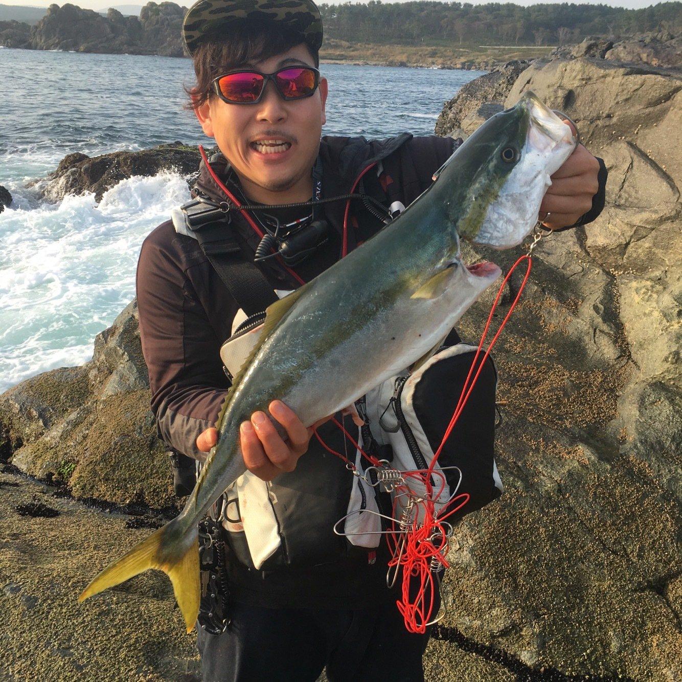 中村 恵太さんの投稿画像,写っている魚はブリ