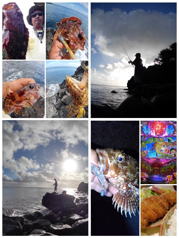 KRO さんの投稿画像,写っている魚はエソ,アカハタ,カサゴ