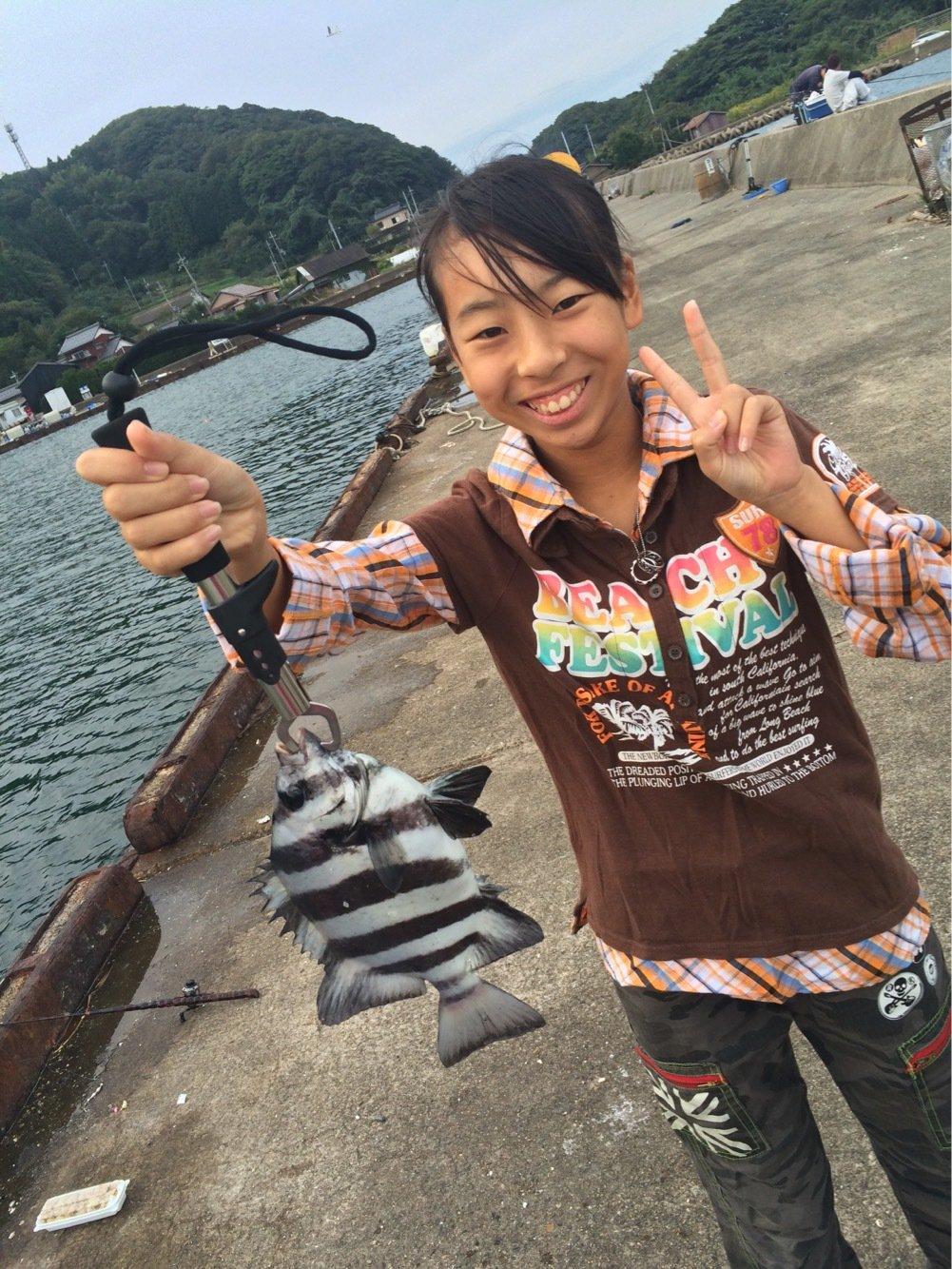 コキチさんの投稿画像,写っている魚はイシダイ