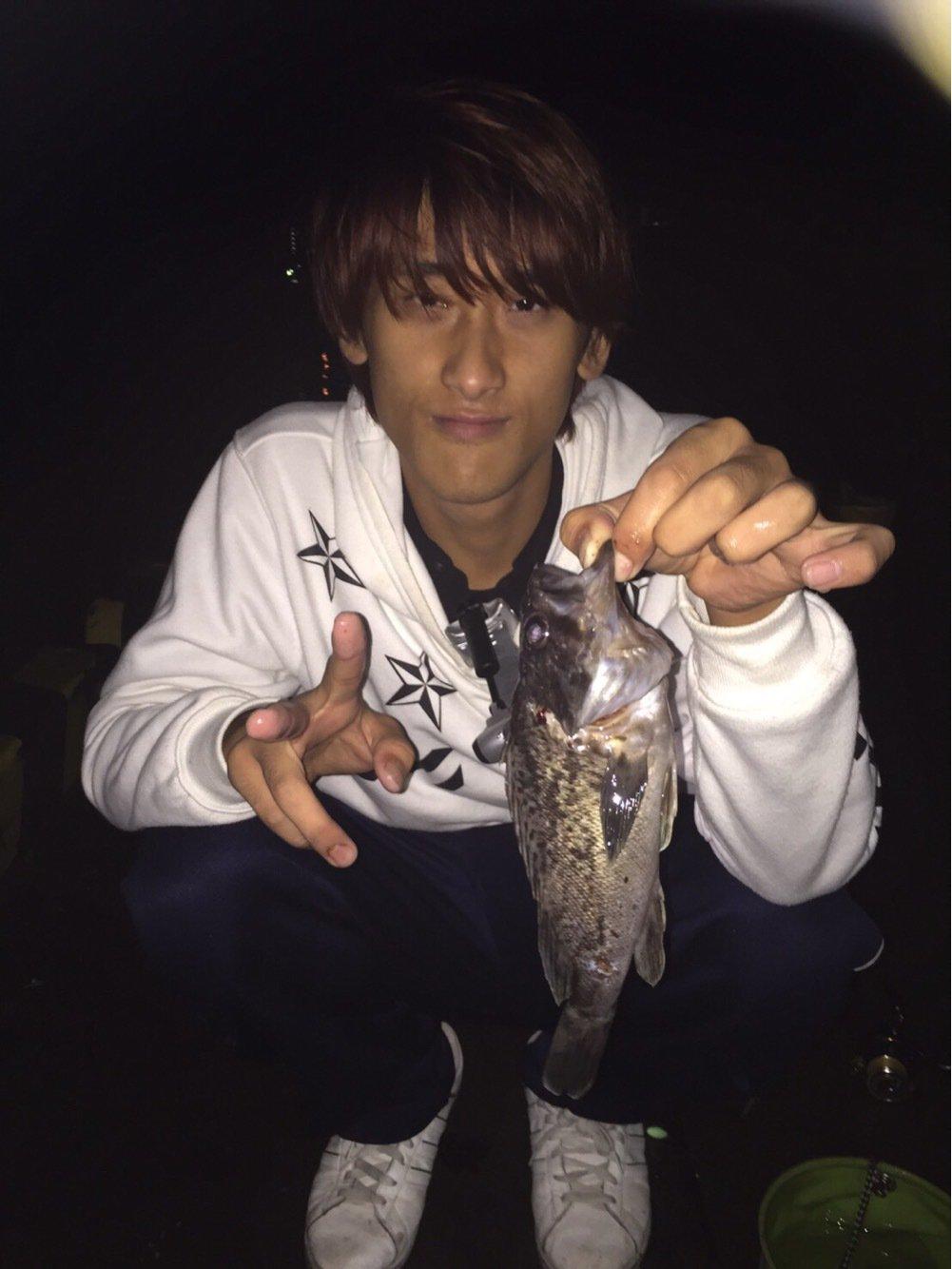 まるのすけさんの投稿画像,写っている魚はクロソイ