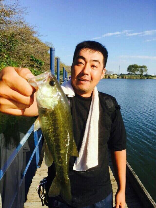 マッキーさんの投稿画像,写っている魚はブラックバス
