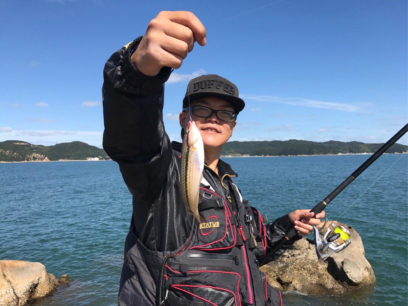 CCBさんの投稿画像,写っている魚はキュウセン