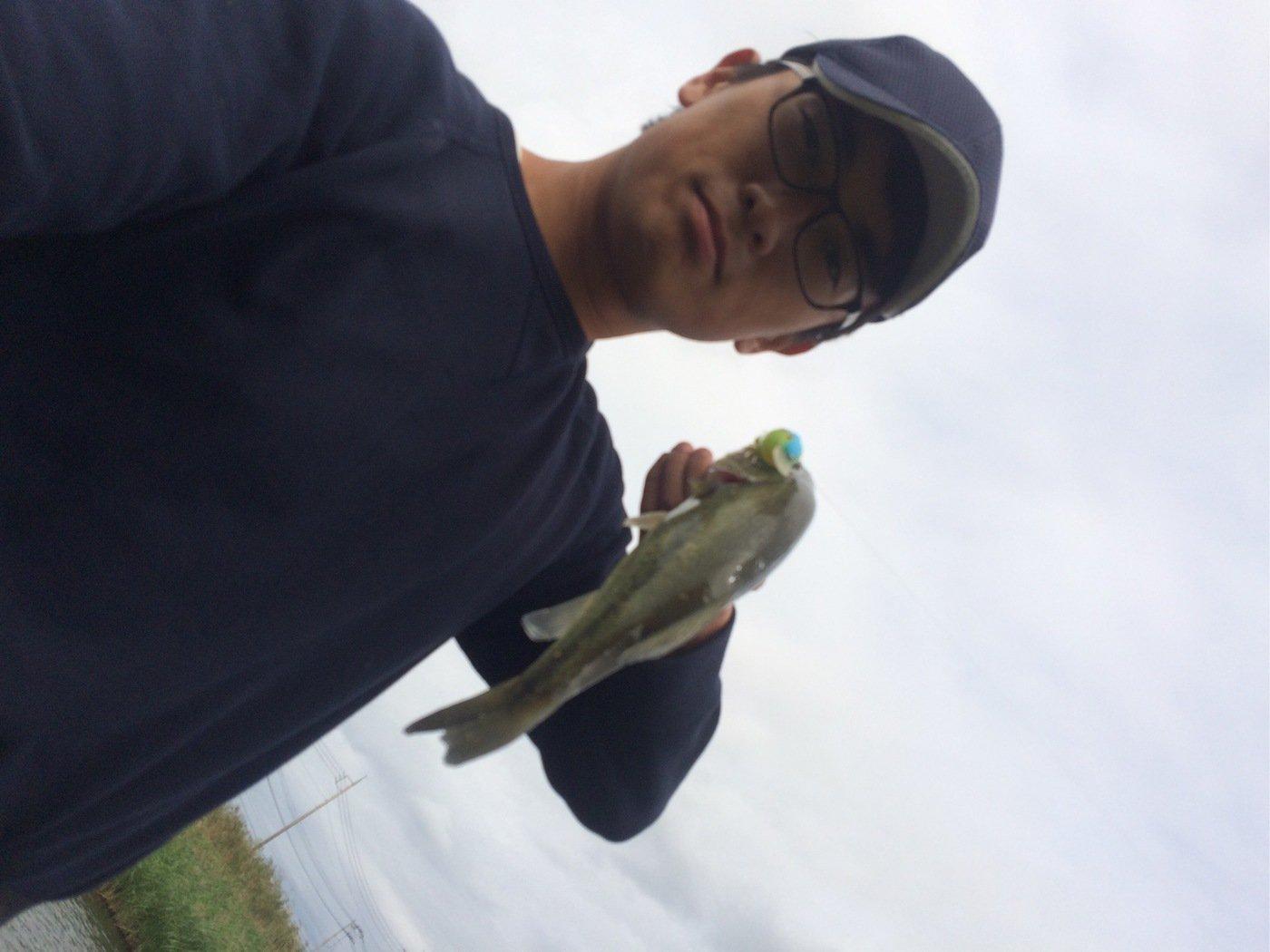 ちばさーさんの投稿画像,写っている魚はブラックバス