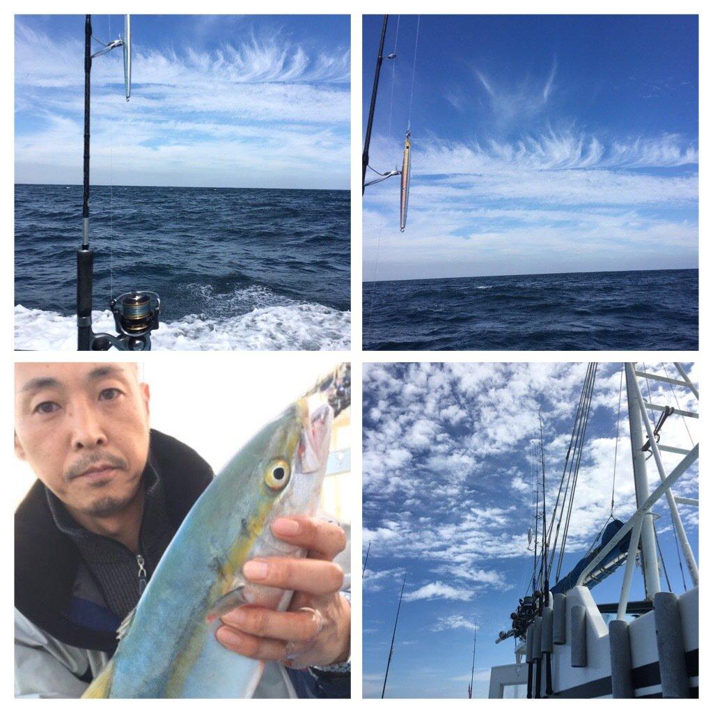 小野さんの投稿画像,写っている魚はブリ