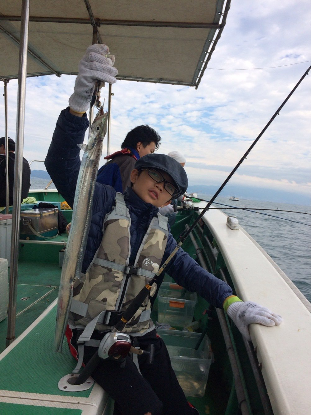 hayatoさんの投稿画像,写っている魚はタチウオ