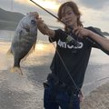 健斗さんの鹿児島県薩摩川内市でのキチヌの釣果写真