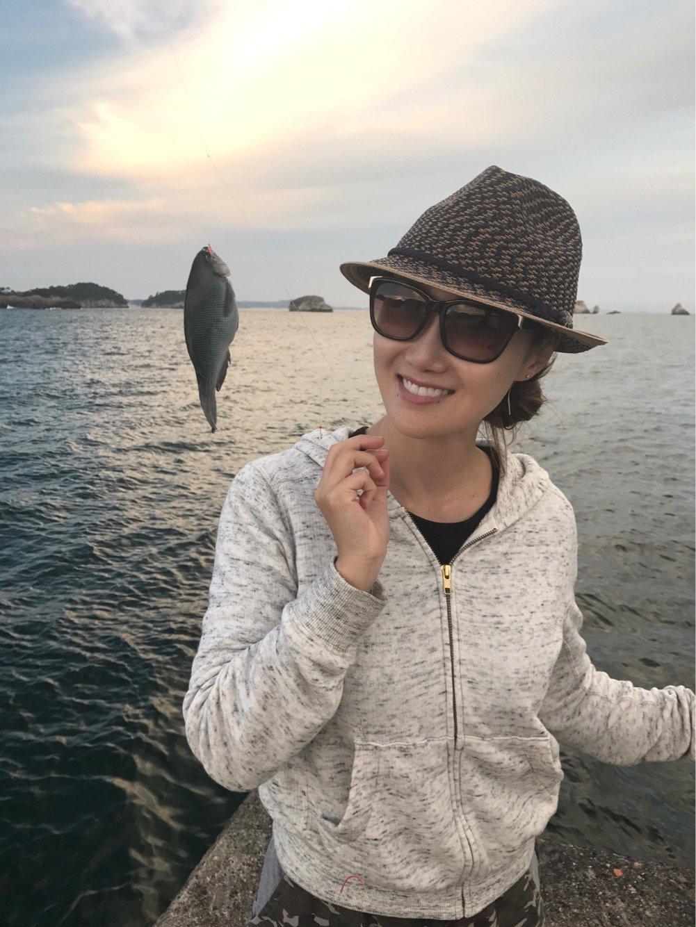 初心者keiさんの投稿画像,写っている魚はメジナ