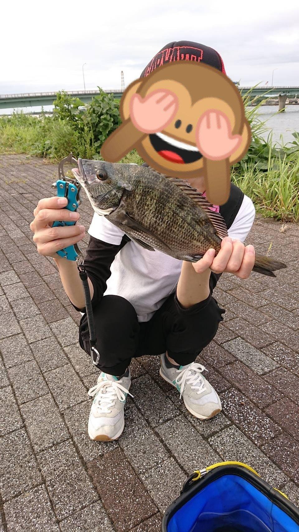 かつさんの投稿画像,写っている魚は