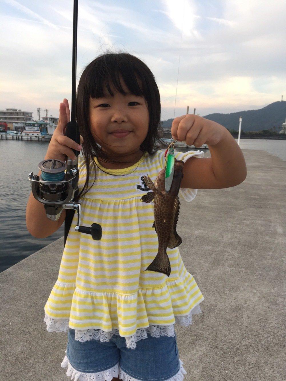 KIさんの投稿画像,写っている魚はオオモンハタ