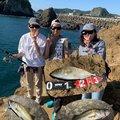 ポニーさんの千葉県鴨川市でのスズキの釣果写真