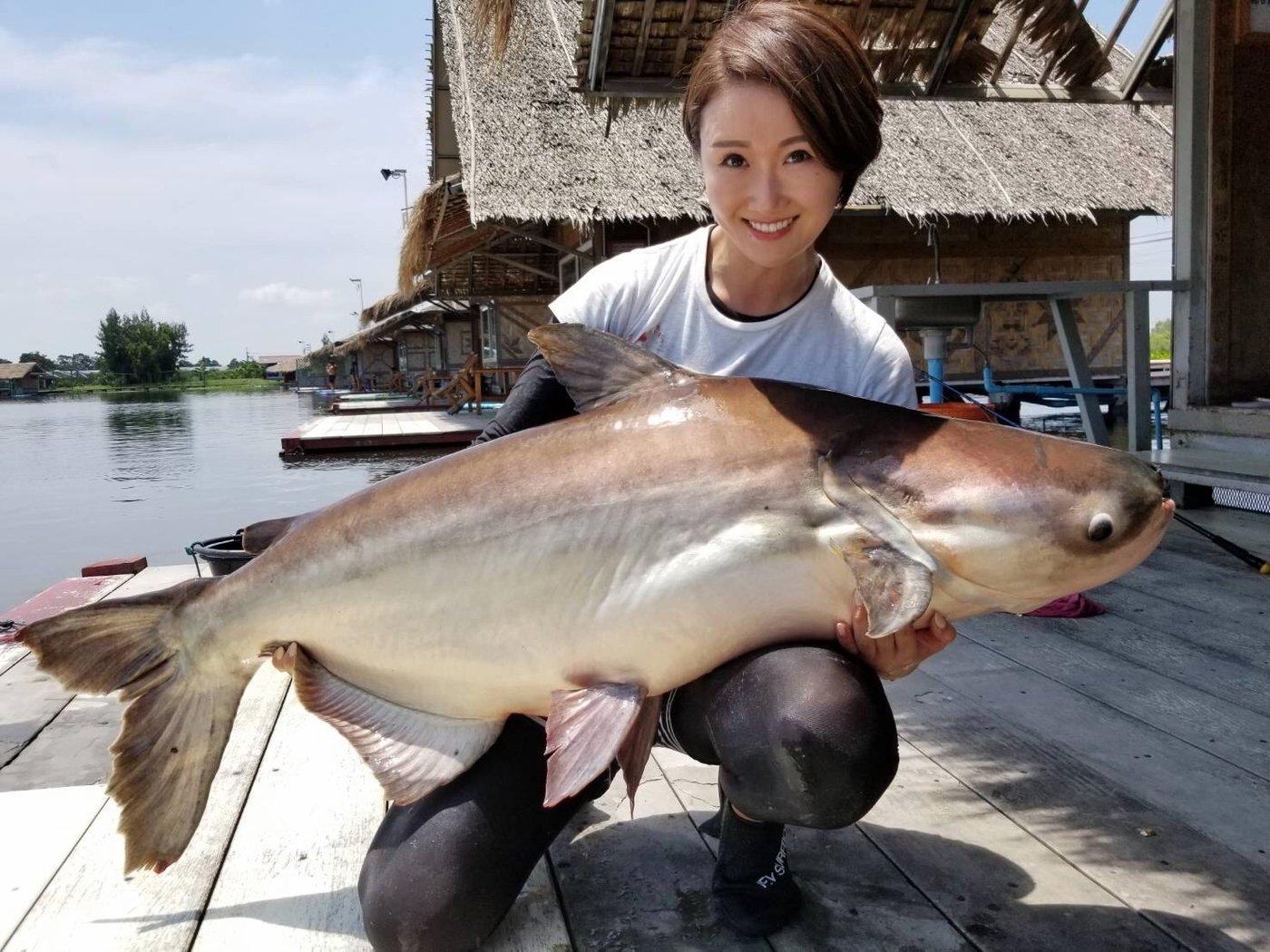 初心者keiさんの投稿画像,写っている魚はナマズ