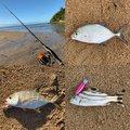 フィッシャーさんの沖縄県でのギンガメアジの釣果写真