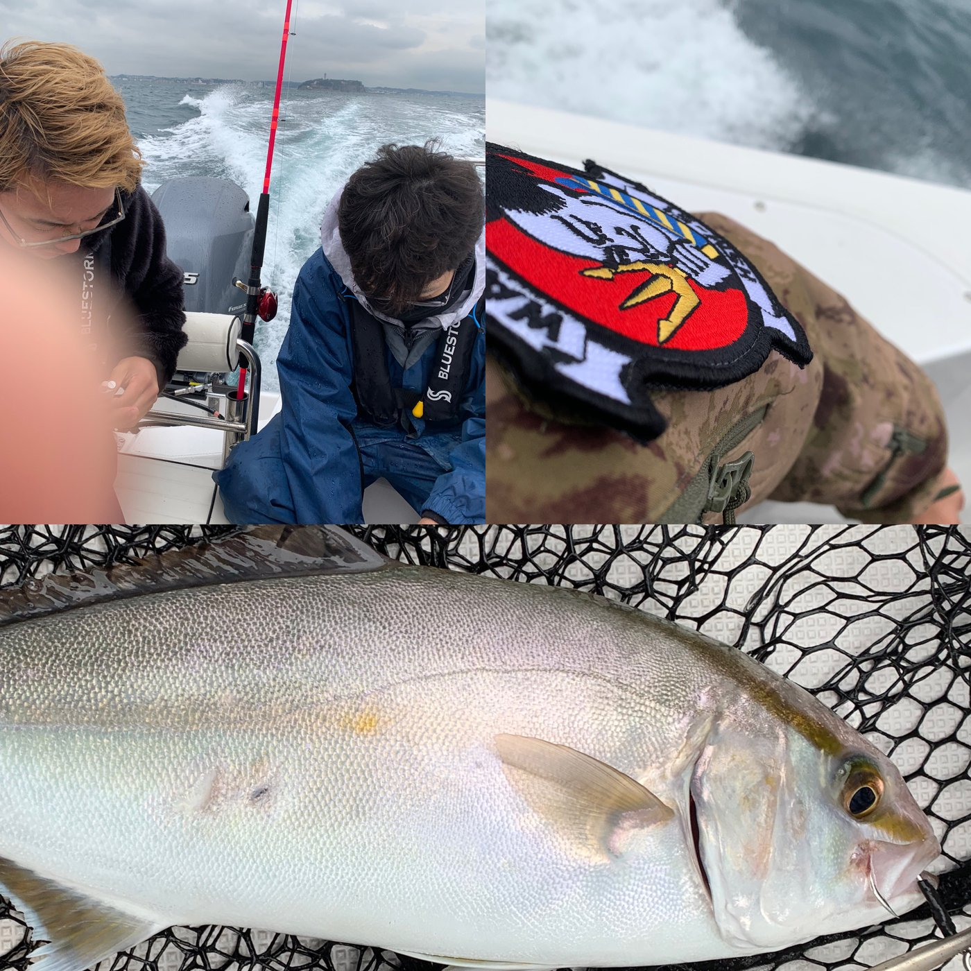 軽T INTERCEPTORさんの投稿画像,写っている魚はカンパチ