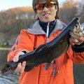 ゆうたさんの福島県でのブラウントラウトの釣果写真