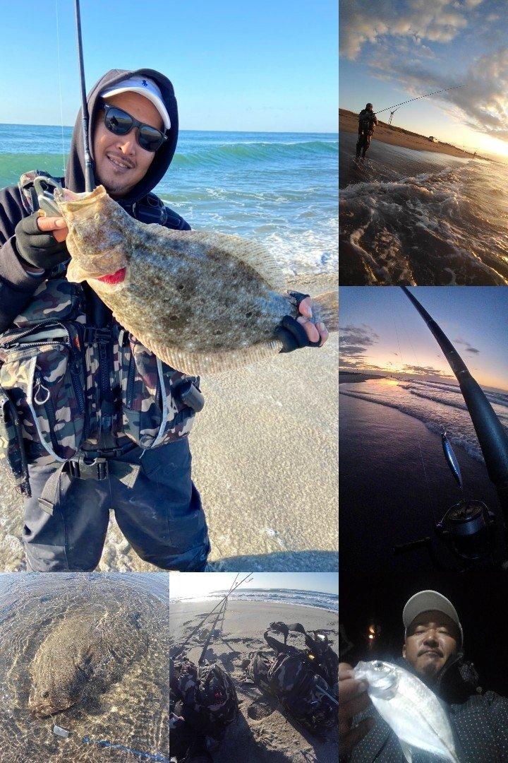KRO さんの投稿画像,写っている魚はギンガメアジ,ヒラメ