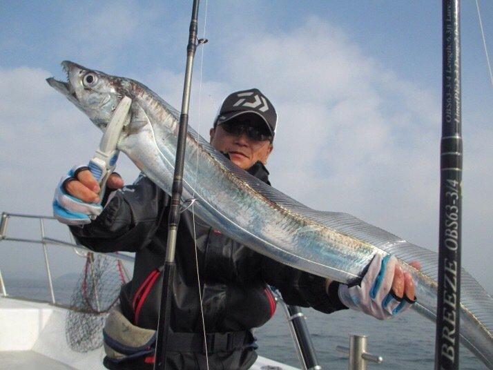 yonexさんの投稿画像,写っている魚はタチウオ
