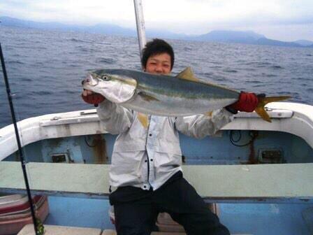 ikaさんの投稿画像,写っている魚はブリ