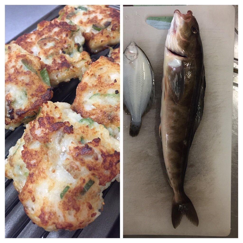 kathuさんの投稿画像,写っている魚はホッケ,カレイ